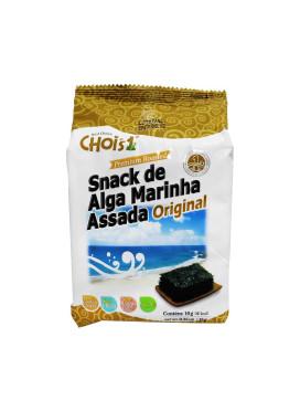 Chois Snack de Alga Marinha Assada Original