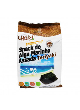Chois Snack de Alga Marinha Assada Teriyaki