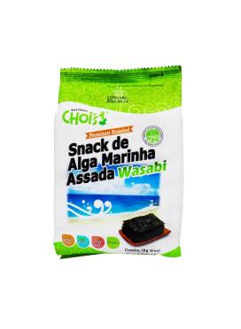 Chois Snack de Alga Marinha Assada  Wasabi